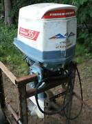 Antique Fisher-pierce Bearcat 55 Four Cycle Outboard Motor