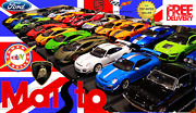 Best Rare Special Edition Maisto 118 Scale Sport Models Cars See Video New Box