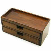 Toyooka Craft Fountain Pen Box For 8pens Kingdom Note Wood Gift Japan Drawer New