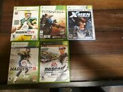 Lot Of Xbox Games. Condition Is Good. Assassins Creed2 Madden 11 Xmen Legend