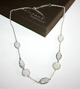 Silpada Over The Moon 925 Sterling Silver Moonstone Necklace N2914