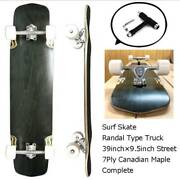 Canada Maple Blank Deck 39 Inches Long Skateboard Complete With T-wrench Tool