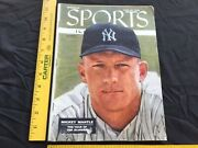 Sports Illustrated Magazine Mickey Mantle First Cover New York Yankees 6-18-1956