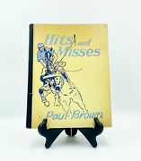Signed First Edition Hits And Misses By Paul Brown Equestrian Hardcover Book