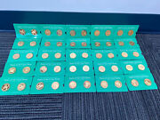 Franklin Mint 1970 State Of The Union 24k/ 925 Sterling 1.04oz 50 Coins