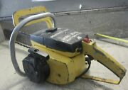 Vintage Collectible Mcculloch Mac 10-10a Chainsaw With 20 Bar