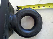 Trailer Pintle Ring Eye Square Mount Draw Bar 2.5 42,000lb Rating Wallace Forge