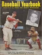 Baseball Yearbook 1952 Edition By True Mans Magazine Excellent