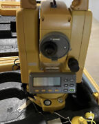 Topcon Gts-226 Electronic Total Station W/battery And Charger Free Shipping
