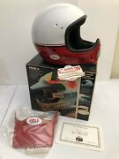 Vintage Nos Bell Moto 4 Motocross Helmet With Tags Magnum Authur Fulmer
