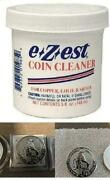 Amazing Stuff Ezest Coin Cleaner Jar Clean Coins Removes 5 Oz.