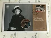 2002 The Queens Golden Jubilee Fiji 50 One 1 Dollar Coin Fdc Cover