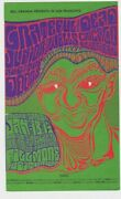 Grateful Dead Jr Wells Chicago Blues Band And The Doors Fillmore West Post Card
