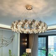Luxury Crystal Home Chandelier For Living Room Bedroom Hotel Lobby Hanging Lamp