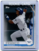 2019 Topps Debut 50 Wander Franco Rookie Card Hot Rods + Tampa Bay Rays