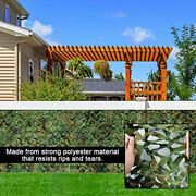 Shade Outdoor Tents Car Canopy Retractable Awning Camouflage Nets Sun Shelter