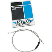 Braided Clutch Cable Harley Low Rider Chrome Fxrc 1987