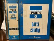 1970 1971 Dodge Plymouth Mopar Parts Manual Book Charger Challenger Rt Hemi Cuda