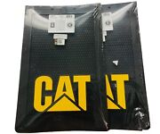 Cat Caterpillar Pair X2 Of Rubber Mud Flaps For Tractor Trailer Semi 12 X 18