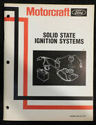 Ford Mercury Lincoln Motorcraft Solid State Ignition Systems Service Manual Book