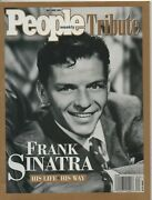 People Magazine Tribute May/june 1998 Frank Sinatra His Life / His Way