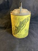 Antique Advertising Oil Can