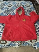 Disneyland Brand Womenand039s Or Menand039s Winnie Pooh Red Jacket Size Large