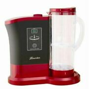 Lourdes High Concentration Hydrogen Water Generator Wine Red Made In Japan