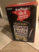 New In Box Buzzy Giant 14andrdquo Tall Slot Machine Coin Bank Vegas 777 Jackpot