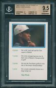 1999 Question Of Sport Tiger Woods Rookie Rc Bgs 9.5 Pop. 23 Rare No Psa10[bbe]