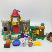 Fisher Price Little People Lil Kingdom Castle Palace Set And Watchful Robin Hood