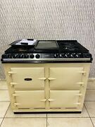 Aga 64 Series Dual Fuel Range Cooker Natural Gas In Cream With Hotplate
