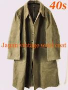 Imperial Japanese Army Coat Wool Vintage Old Clothes War