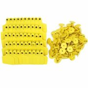 100pcs Cow Cattle Ear Tag Signs Words Farm Animal Identification Livestock Tools