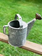 Vintage Galvanized Water Can