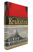 Simon Winchester Krakatoa The Day The World Exploded 1st Edition 7th Printing