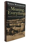 Simon Winchester The Meaning Of Everything The Story Of The Oxford English Dicti