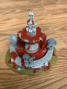 Lemax Spooky Town Table Accent Haunted Fountain 03814 2010