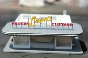 1-160th N Scale 3d Printed Leon's Custard Stand Built And Painted