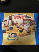 Fisher Price Little People Hanukkah Chanukah Set Complete Musical 2003 Brand New