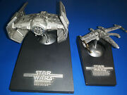Vintage Star Wars Rawcliffe Fine Pewter Tie Fighter Rf950 - Le 178 Of 15000