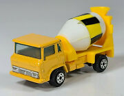 Vintage Yatming Cement Mixer Concrete Truck 2.75 Diecast Scale Model Yellow