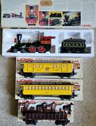 Lionel The General Set Steam Locomotive And Tender, Horse-passage-baggage Cars...