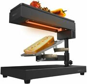 Cecotec Raclette Cheeseandgrill 6000 Black 600w Sleep Grill Finish Stainless Steel