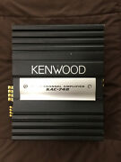 Kenwood Kac-748 4/3/2 Channel Amplifier Vtg Mexico Old School Car Amp Used