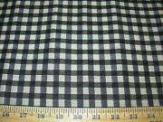 9 Yds Stroheim Genuine Horsehair Falabella Plaid Upholstery Fabric For Less