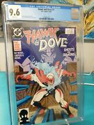 Hawk And Dove 1 1988 Cgc 9.6 Wp Titans Hbo Max Liefeld + 2-5 Complete Series