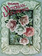 Tole Decorative Painting Delane Lange Victorian Lace And Roses Pattern Book