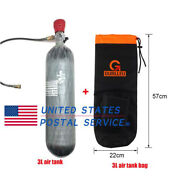 4500psi 3l Air Cylinder Scuba Ce With Backpack Bag Carbon Fiber Tank Paintball