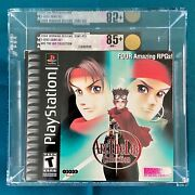 Arc The Lad Collection Vga 85+ Sony Playstation 1 Ps1 Brand New Sealed Not Wata